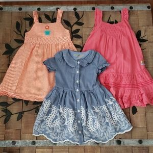 Girl's size 4t Dress lot VGUC Genuine Kids, JK Kid